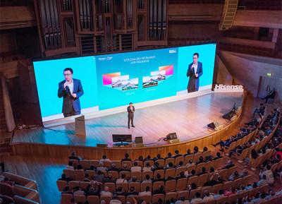 Hisense presenta televisor ULED con 5376 zonas
