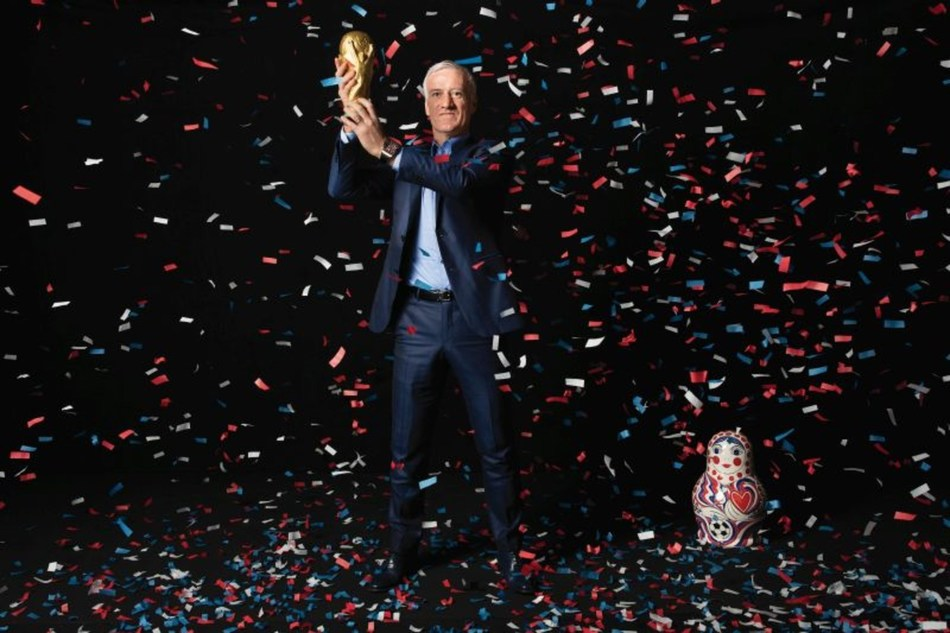 Didier Deschamps, Hublot Friend of the brand and Coach of the French Football (PRNewsfoto/Hublot)