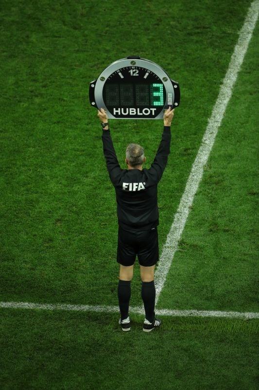 Hublot 4th Referee Board (PRNewsfoto/Hublot)