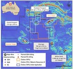 Figure 1. Warrego North Project map including major prospects, tenure and planned drilling (CNW Group/Chalice Gold Mines Limited)