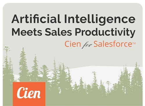 Cien is a new mobile app that measures and unlocks sales productivity.