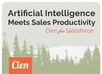 AI-Powered App Cien Live on Salesforce AppExchange