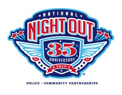 National Night Out 2018 (PRNewsfoto/NATW)