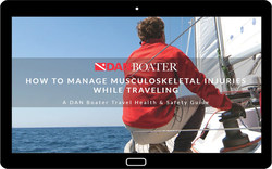 Learn how to manage musculoskeletal injuries while traveling with this new health and safety guide from DAN Boater. Perfect for recreational boaters and adventure travelers.