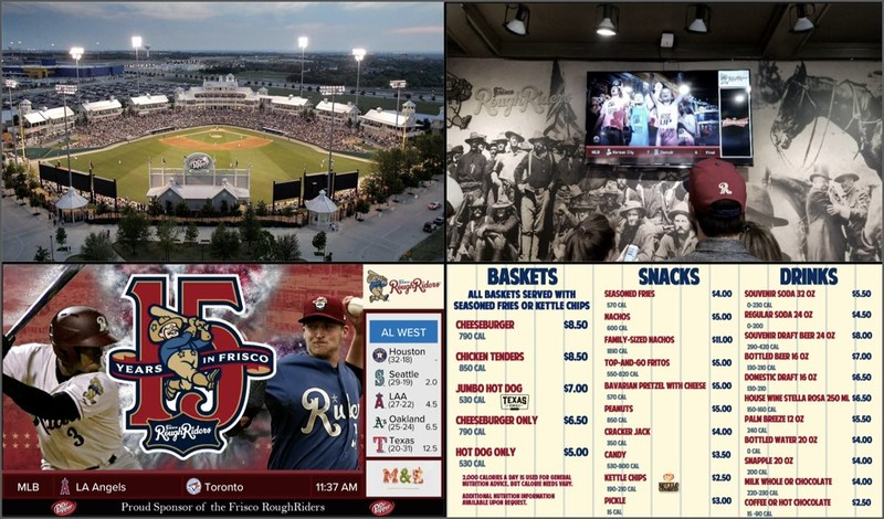 FanConnect powers screens throughout Dr Pepper Ballpark