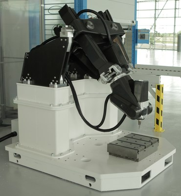 Exechon's XMini is going to work for Dubai-based REFCO Metals. The portable, high-precision robot makes parts to the exacting quality standards of the aerospace, defense and automotive industries.