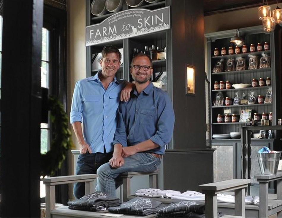 Beekman Boys Brent Ridge and Josh Kilmer-Purcell to offer artisanal made and inspired products on HSN