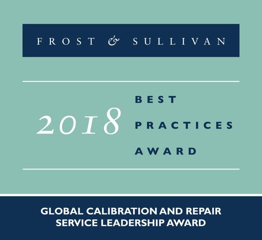 SIMCO Earns Frost & Sullivan's Prestigious Global Service Leadership Award for Its Advanced Calibration, Repair, and Software Services