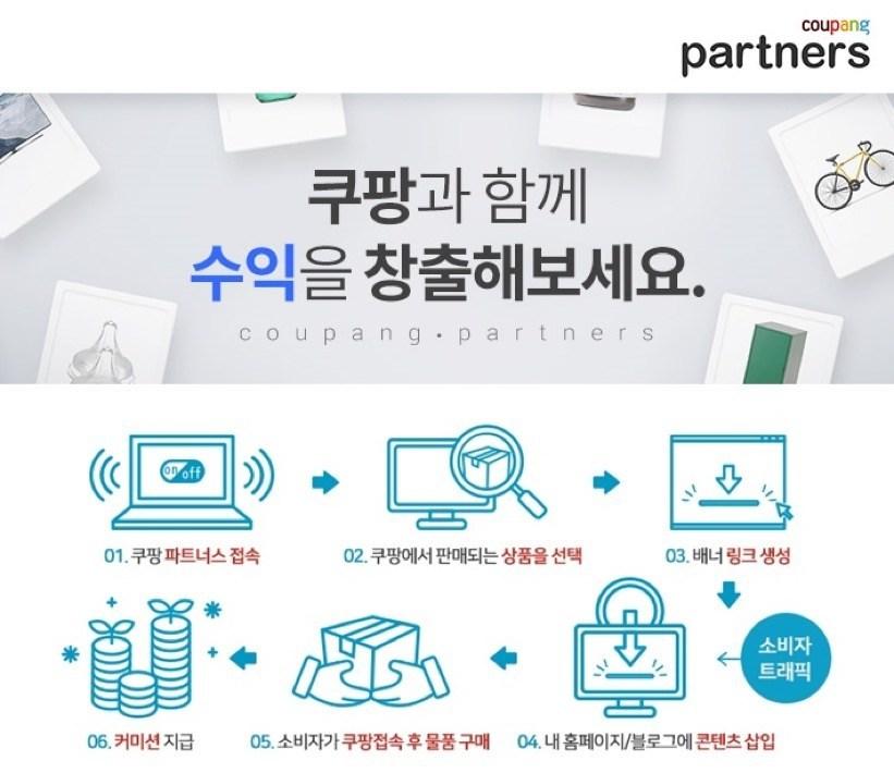 "Global Affiliate Program ""Coupang Partners"""