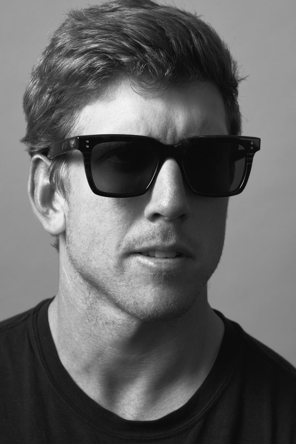 Peter Burling in Mann Sunglasses by DITA Eyewear