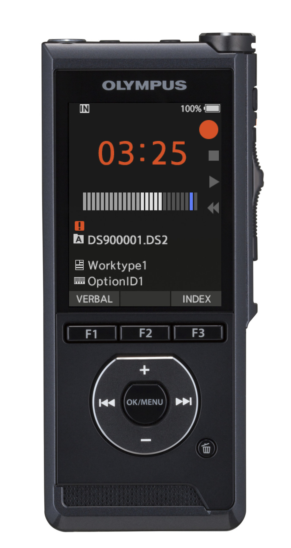 Olympus® DS-9000 Digital Voice Recorder Simplifies Workflow And Increases Dictation Efficiency