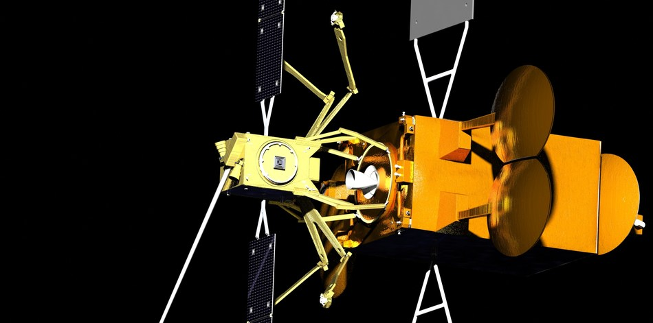 Effective Space's SPACE DRONE Spacecraft © Effective Space (CNW Group/Maxar Technologies Ltd.)