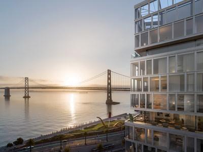 San Francisco's Last True Waterfront Condominium Building Unveiled At One Steuart Lane