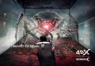 4DX con ScreenX Brand Key Visual
