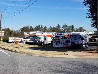Adaptive Reuse Of Athens Plaza U Haul To Offer Self Storage To Uga Students Markets Insider