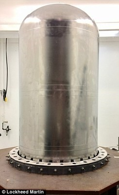 Traditionally, it would take a year to secure a 4-foot-diameter, 4-inch-think titanium dome, but 3-D printing has eliminated that need, while reducing the amount of wasted material.