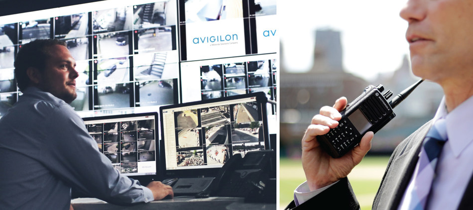 Figure 1. MSI and Avigilon's complete security and critical communications solution selected to enhance safety in downtown Detroit. (CNW Group/Avigilon Corporation)