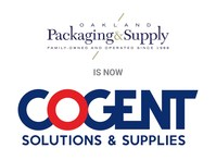 Oakland Packaging & Supply is now Cogent Solutions & Supplies.