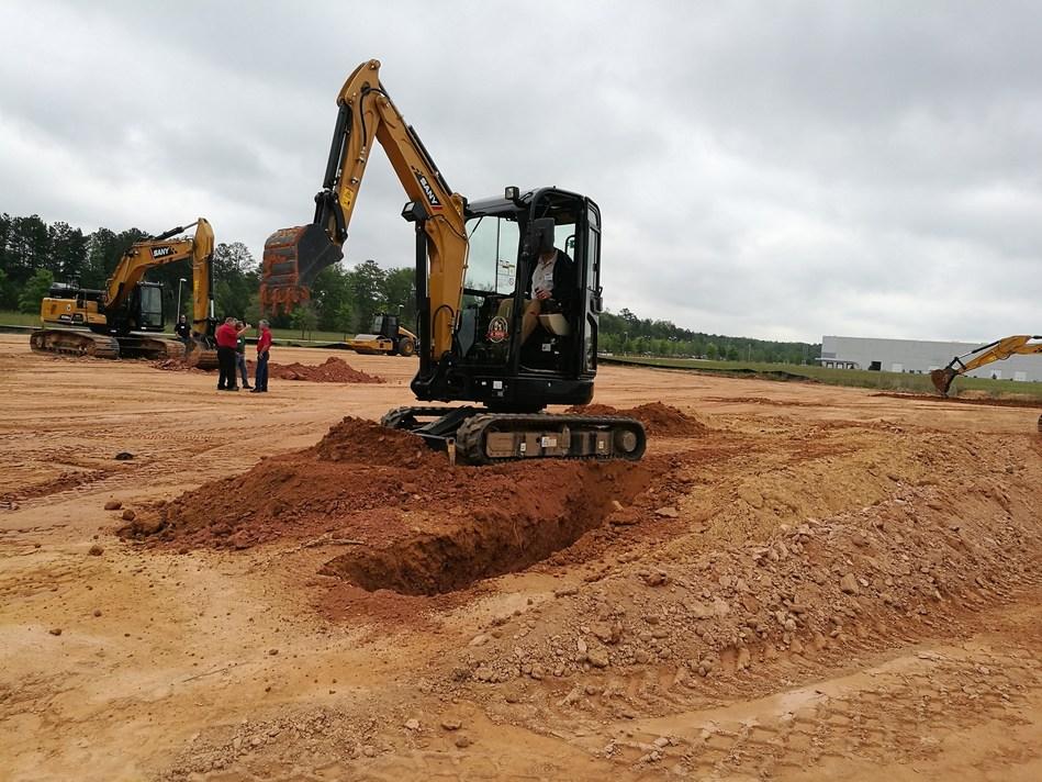 SANY mini excavator SY26U