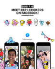 LINE FRIENDS Launches 'BT21' Sticker and Camera Effects on Facebook and Messenger