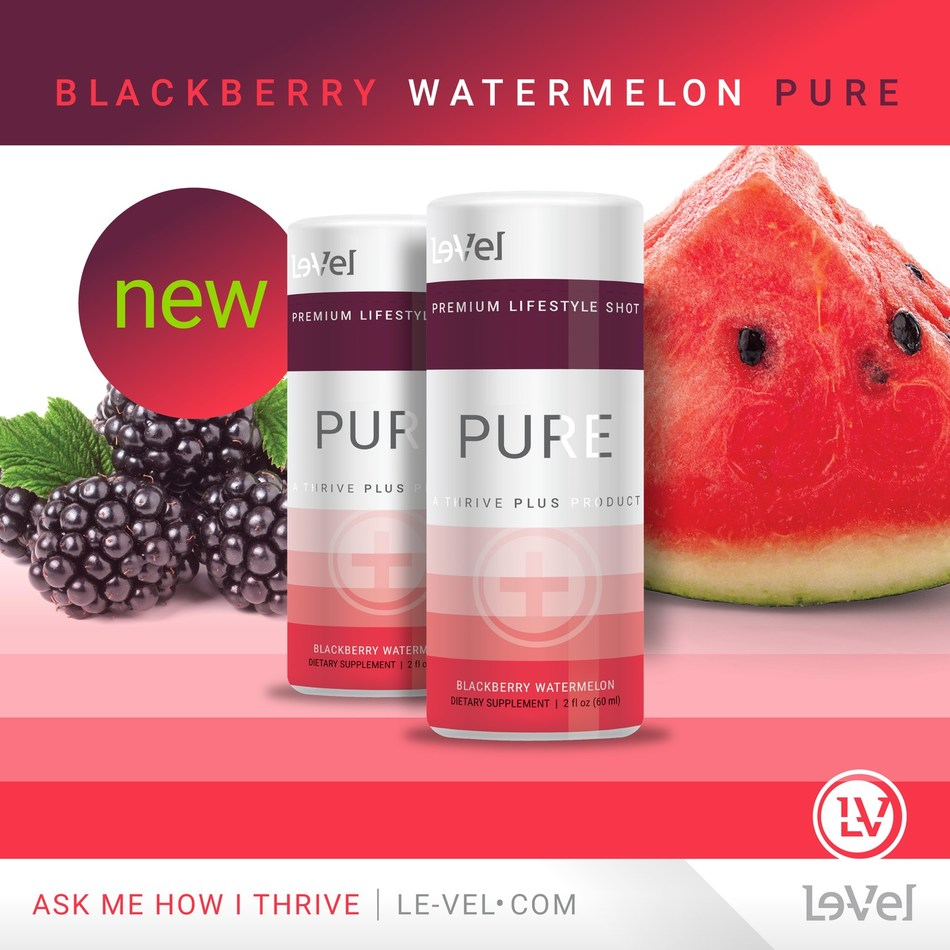 THRIVE PURE now in Blackberry Watermelon