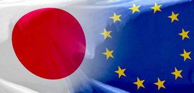 Japão e União Europeia assinam acordo histórico de livre comércio se opondo ao protecionismo comercial, informa a Shinsei Corporate Management. (PRNewsfoto/Shinsei Corporate Management)