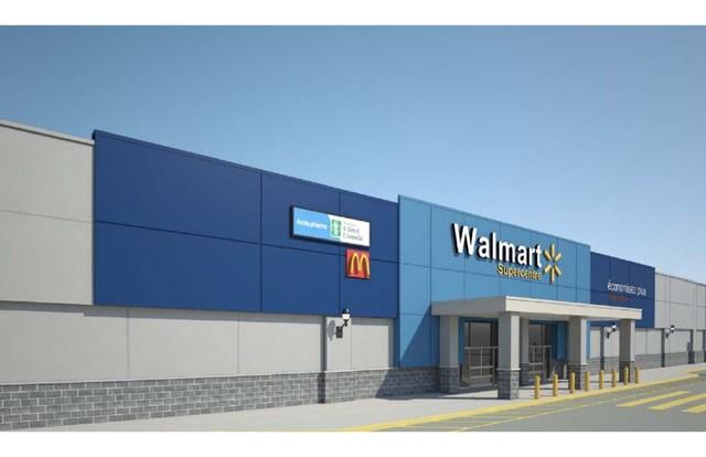 Projet de revitalisation Walmart Galeries Rive Nord. (Groupe CNW/FONDS DE PLACEMENT IMMOBILIER COMINAR)