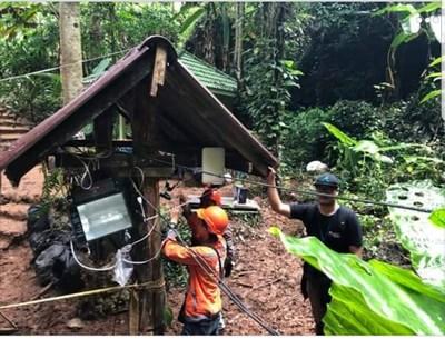 Cambium Networks泰国洞穴救援表明快速部署的无线很重要