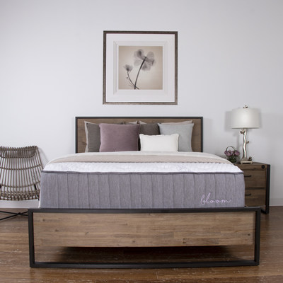 Brooklyn Bedding will launch six new sleep solutions at the Las Vegas Market next week—each new mattress will fill a critical customer niche in the bedding category, featuring the high quality, effortless private label and thoughtful assortment that distinguishes the brand.  The Bloom (pictured) delivers naturally cultivated comfort, designed with Talalay latex, Joma Wool™ and organic cotton in both all-foam and hybrid options.