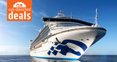 Princess Cruises Offers Up to 40% off During Sun-Drenched Deals Sale