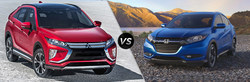 Chicago-area shoppers can compare the 2018 Mitsubishi Eclipse Cross vs the 2018 Honda HR-V on the Continental Mitsubishi website.