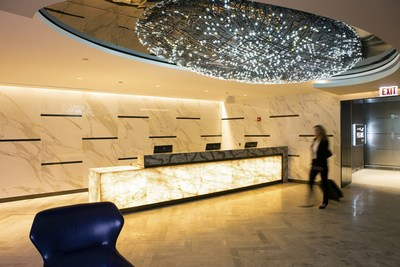 United Polaris lounge at Chicago O'Hare International Airport