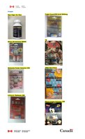 Unauthorized health products (CNW Group/Health Canada)