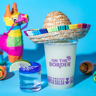 Take life with endless tacos, slices of lime and shots of tequila at On The Border Mexican Grill & Cantina® by celebrating National Tequila Day from July 22 until July 24 with perfectly paired deals!