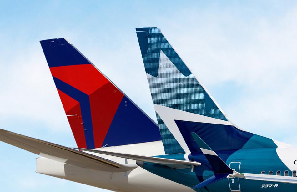 WestJet and Delta have signed a definitive agreement to create a comprehensive transborder joint venture arrangement. (CNW Group/WESTJET, an Alberta Partnership)