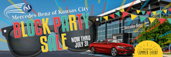 The 2018 Mercedes-Benz of Kansas City Block Party is a celebration of summer and great luxury vehicle leases.