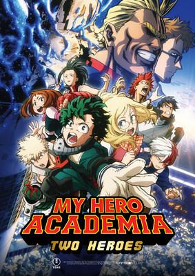 """My Hero Academia: Two Heroes"" key art. Courtesy Funiimation Films"