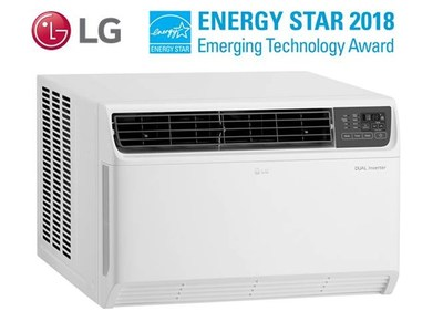 LG Electronics USA is reinventing room air conditioning with the launch of three new window air conditioners – the first in the United States to deliver quiet, advanced cooling with an unprecedented increase in energy efficiency of 40 percent on its best-performing model – thanks to the proprietary LG Dual Inverter Compressor™ technology.*