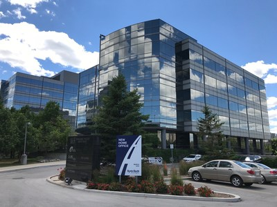 Sym-Tech's New Home Office, 165 Commerce Valley Court, Markham, ON (CNW Group/Sym-Tech Dealer Services)