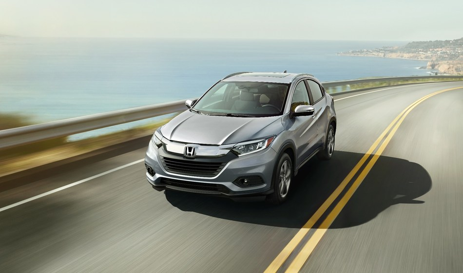 The 2019 HR-V expands its appeal with the addition of new Sport and Touring trims, refreshed styling, new technology, and a more refined driving experience, adding to an already established reputation as a versatile and sporty 5-door subcompact SUV