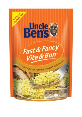 UNCLE BEN'S® Fast & Fancy® Country Chicken Flavour (CNW Group/Mars Food Canada)