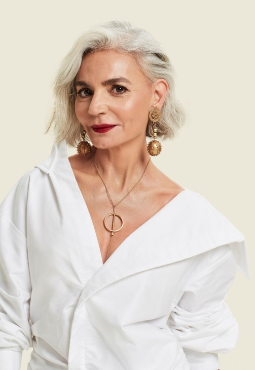 """Grece Ghanem, Montreal Fashion and Travel Enthusiast. Beauty doesn't age, beauty changes. """"Sephora gave me the chance to inspire women of all ages and professional backgrounds by showing them that beauty does not disappear with age. Beauty changes and we should embrace it; not fear it!"""" (CNW Group/Sephora)"""