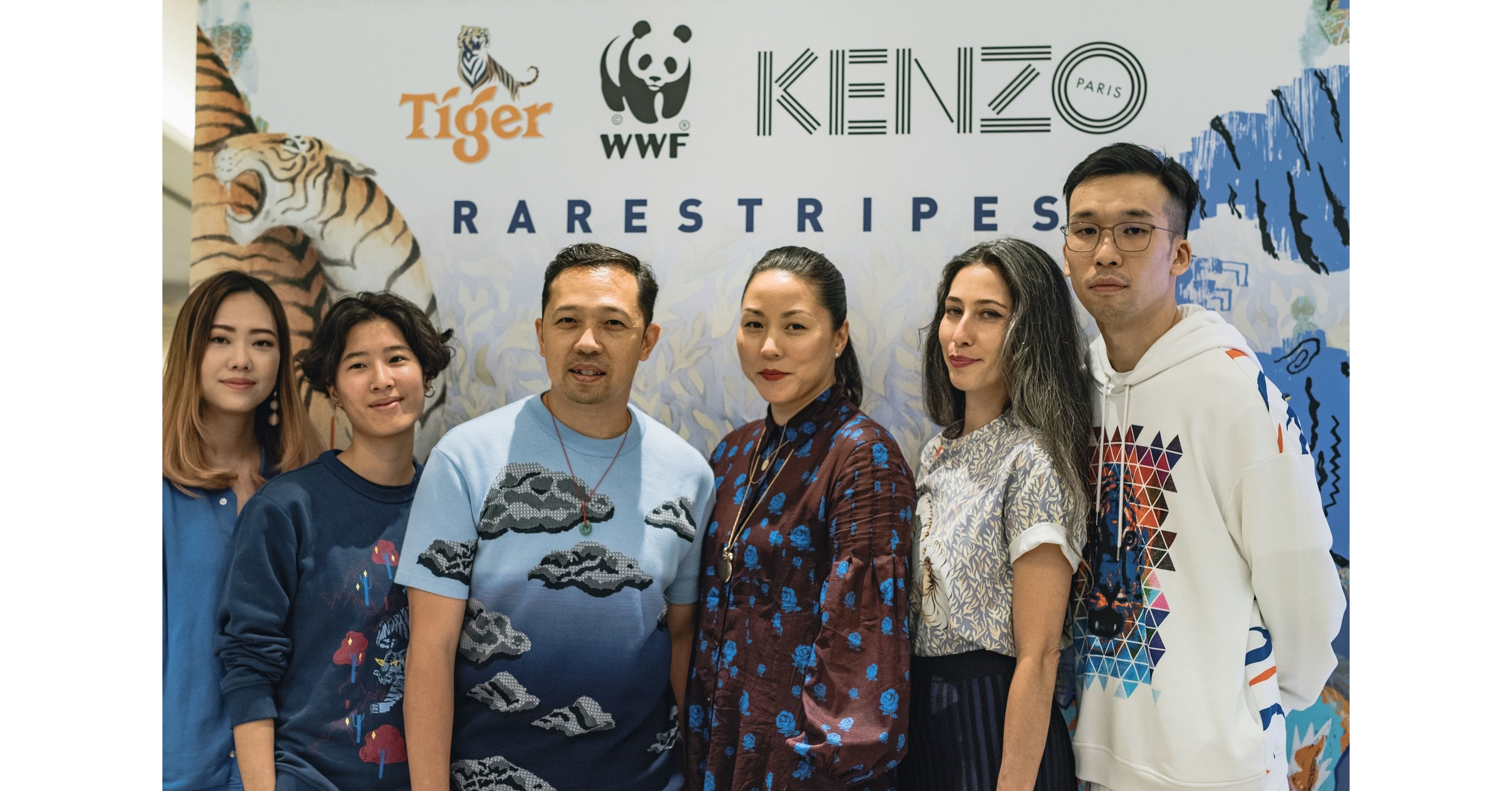 World's First 'Rare Stripes' Collection Unveiled in the Name of Wild Tiger Conservation