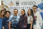 From L-R: Illustrator and designer Esther Goh (Singapore), illustrator and printmaker Julienne Tan (Cambodia), co-creative directors of KENZO Humberto Leon and Carol Lim, contemporary artist and sculptor Meryl Smith (USA) and visual and digital artist Sean Lean (Malaysia) (PRNewsfoto/Tiger Beer)