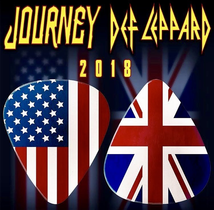 Catch Journey LIVE with Def Leppard!