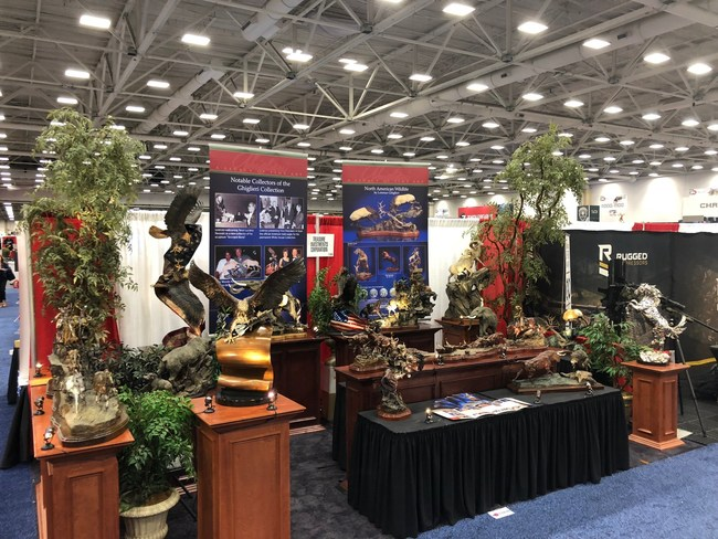Snapshot of Treasure Investments Corporation's Booth space at the 2018 NRAAM
