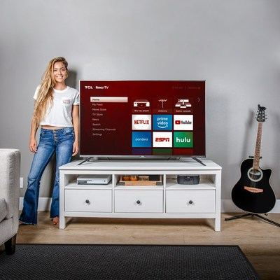 TCL Partners with Pro Surfer Tia Blanco