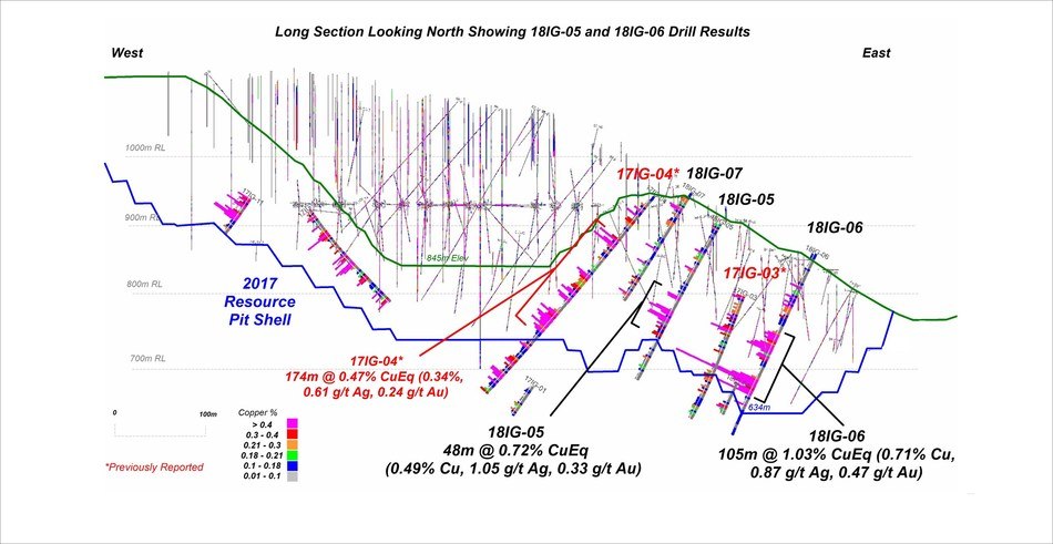 APPENDIX B: CROSS SECTIONS - CROSS SECTION B (CNW Group/Copper Mountain Mining Corporation)