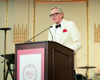 Terry Chandler, President and CEO of Diamond Council of America (DCA), received the Triple Zero® Award at American Gem Society's annual Circle of Distinction Dinner. Mr. Chandler was recognized for his contributions and dedication to the jewelry industry.