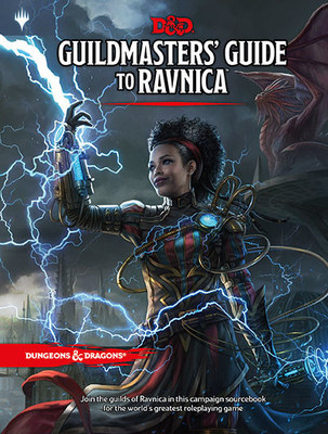 Guildmasters' Guide to Ravnica, releasing everywhere on November 20, is the first collaboration on a major product between Dungeons & Dragons and Magic: The Gathering. The book will contain everything fans need to play D&D in the world-spanning city of Ravnica, the fan-favorite Magic setting populated by ten rival guilds, each with its own ethos and agenda.